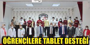 Öğrencilere tablet desteği