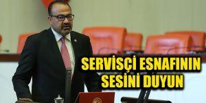 Servisçi esnafının sesini duyun