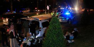 Aranan araç polisi alarma geçirdi