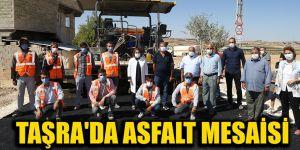 Taşra'da asfalt mesaisi