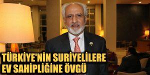 Türkiye'nin Suriyelilere ev sahipliğine övgü