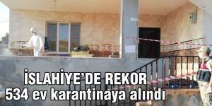 İki haftada 534 ev Kovid-19 nedeniyle karantinaya alındı
