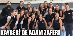 KAYSERİ'DE ADAM ZAFERİ
