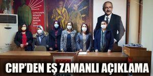 CHP'den eş zamanlı açıklama