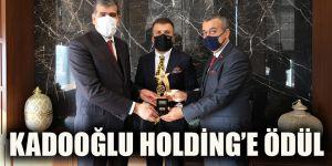 Kadooğlu Holding'e ödül