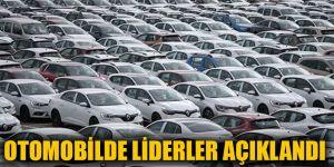 Otomobilde liderler açıklandı