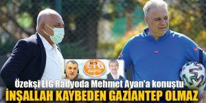 Özekşi LİG Radyoda Mehmet Ayan'a konuştu