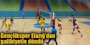Gençlikspor Elazığ'dan galibiyetle döndü 3 – 0