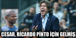 Cesar, Ricardo Pinto için gelmiş