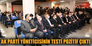 AK Parti yöneticisinin testi pozitif çıktı