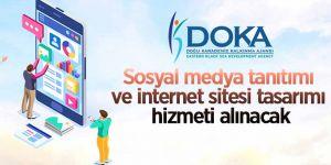 Sosyal medya tanıtımı ve internet sitesi tasarımı işi hizmeti alınacak