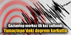 Yamaçtepe'deki deprem korkuttu