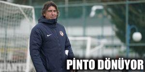 Pinto dönüyor