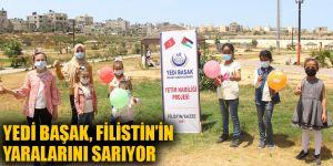 Yedi Başak, Filistin'in yaralarını sarıyor