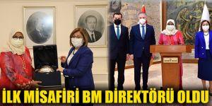 İlk misafiri BM direktörü oldu