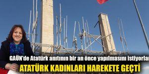 GAÜN'de Atatürk anıtının bir an önce yapılmasını istiyorlar