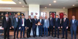 Gaziantep FK Başkanı Akınal'dan Özdemir'e ziyaret