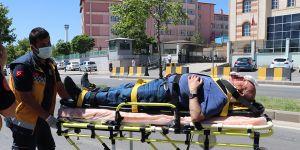 İki halk otobüsü çarpıştı: 7 yaralı