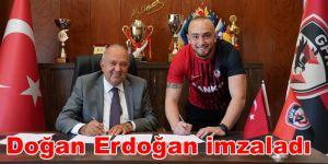 Doğan Erdoğan imzaladı