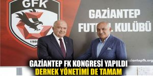 GAZİANTEP FK KONGRESİ YAPILDI