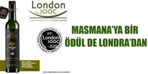 MASMANA'YA BİR ÖDÜL DE LONDRA'DAN