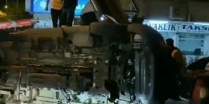 Kavaklık'ta ambulans kazası