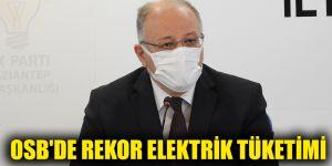 OSB'de rekor elektrik tüketimi