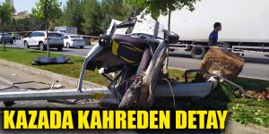 Kazada kahreden detay