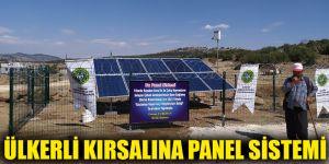 Ülkerli kırsalına panel sistemi