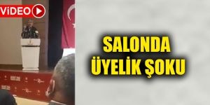 SALONDA ÜYELİK ŞOKU