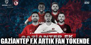 Gaziantep F.K artık Fan Tokende