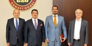 Irak Gaziantep Başkonsolosu'ndan GSO'ya ziyaret