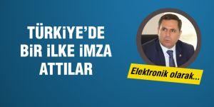 Türkiye'de bir ilke imza attılar