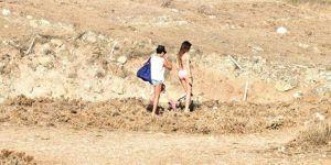 Rojda Demirer, bikinili görüntülenmemek için dağa kaçtı