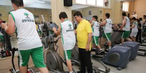 Şehitkamil sporcuların sağlığını düşünüyor