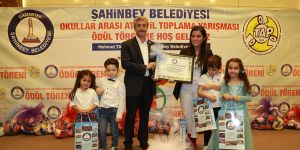 Çevreye duyarlı okullar ödüllendirildi