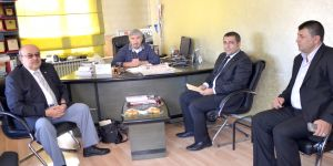 Taziye ziyaretinde Gaziantep'i konuştular