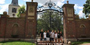 GKV öğrencileri ABD'den döndü