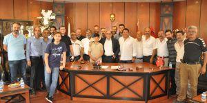 Gaziantepspor'da futbolcusuz bayramlaşma