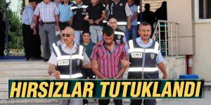 Hırsızlar tutuklandı