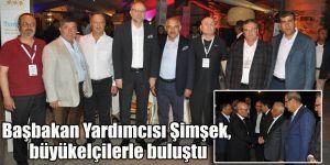 Başbakan Yardımcısı Şimşek, büyükelçilerle buluştu