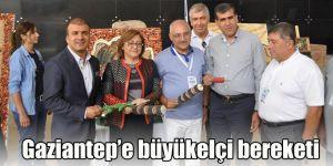 Gaziantep'e büyükelçi bereketi