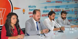 Ak Parti Gençlik Kolları'nda görev değişimi