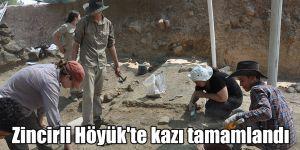 Zincirli Höyük'te kazı tamamlandı