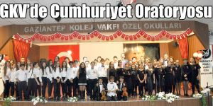 GKV'de Cumhuriyet Oratoryosu