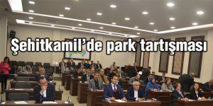 Şehitkamil'de park tartışması