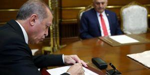 Erdoğan dört üniversiteye rektör atadı