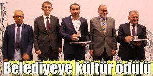 Belediyeye kültür ödülü