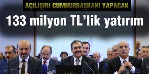 133 milyon TL'lik yatırım