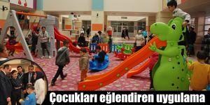 Çocukları eğlendiren uygulama